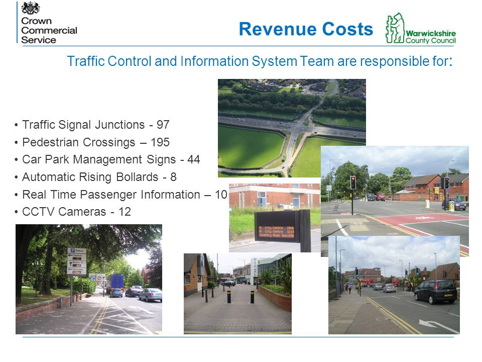 Traffic Control and Information System Team are responsible for: