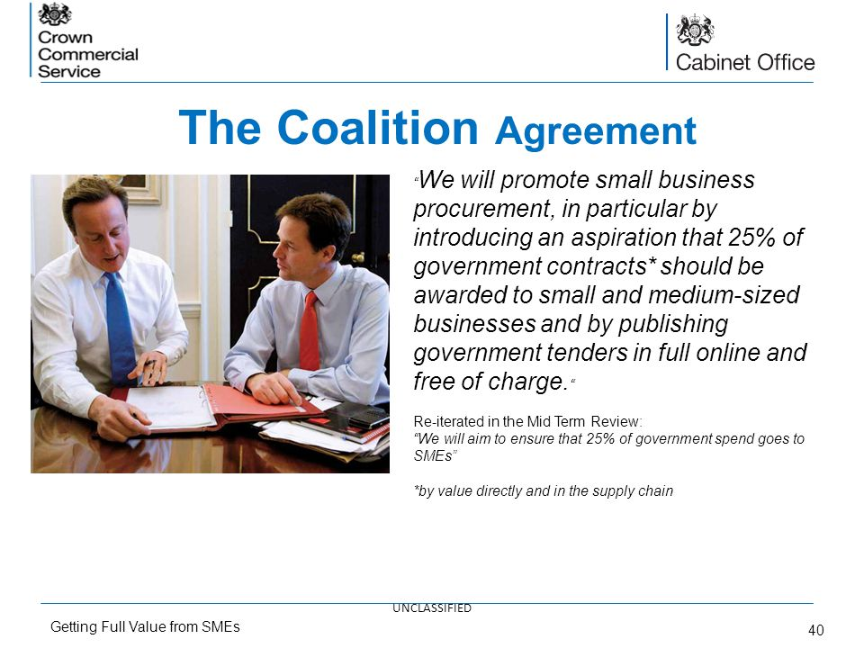 The Coalition Agreement