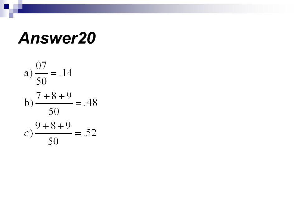 Answer20