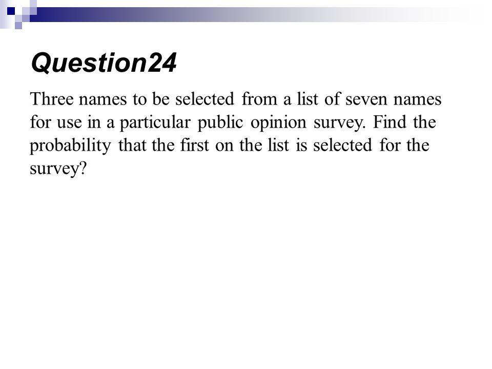 Question24