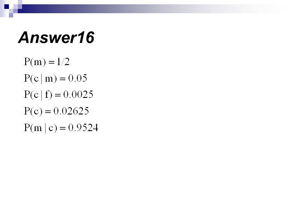 Answer16