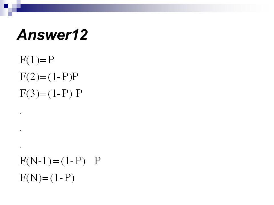 Answer12