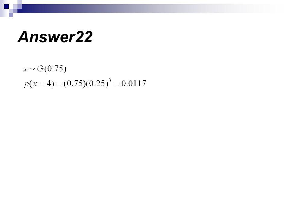 Answer22