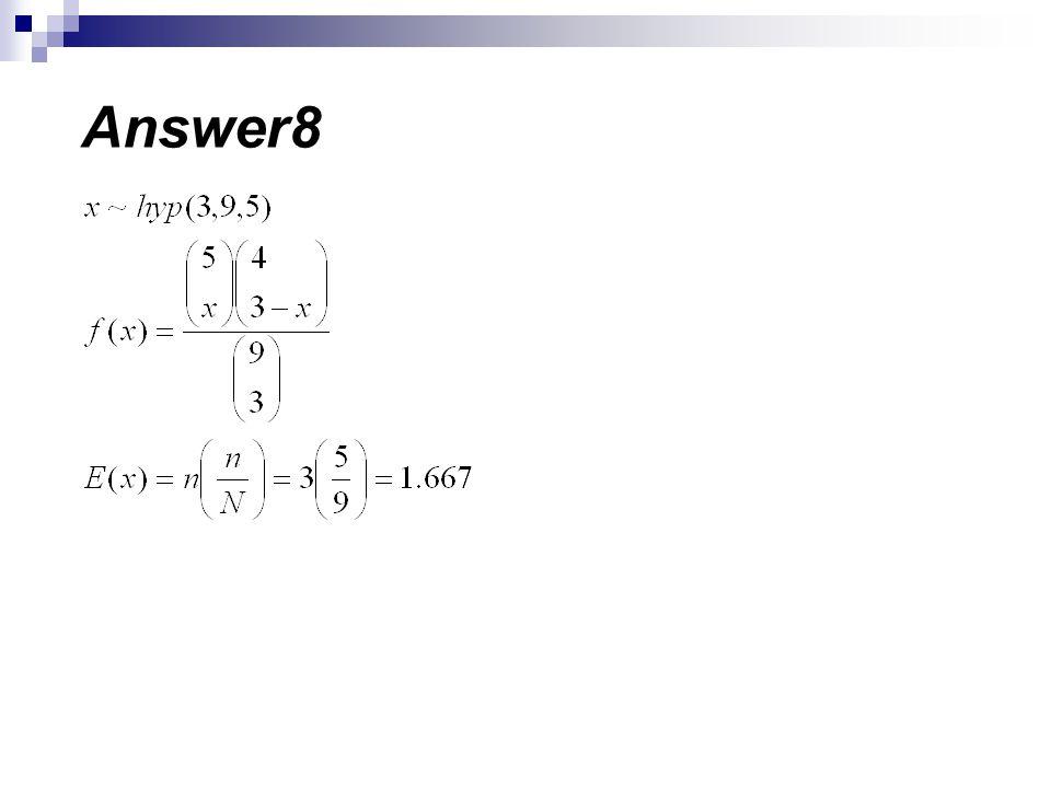 Answer8