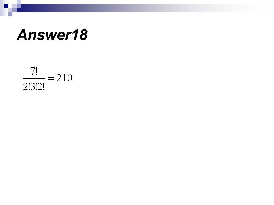 Answer18