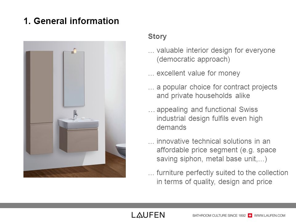 1. General information Story