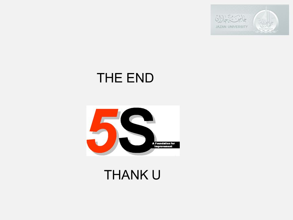 THE END THANK U