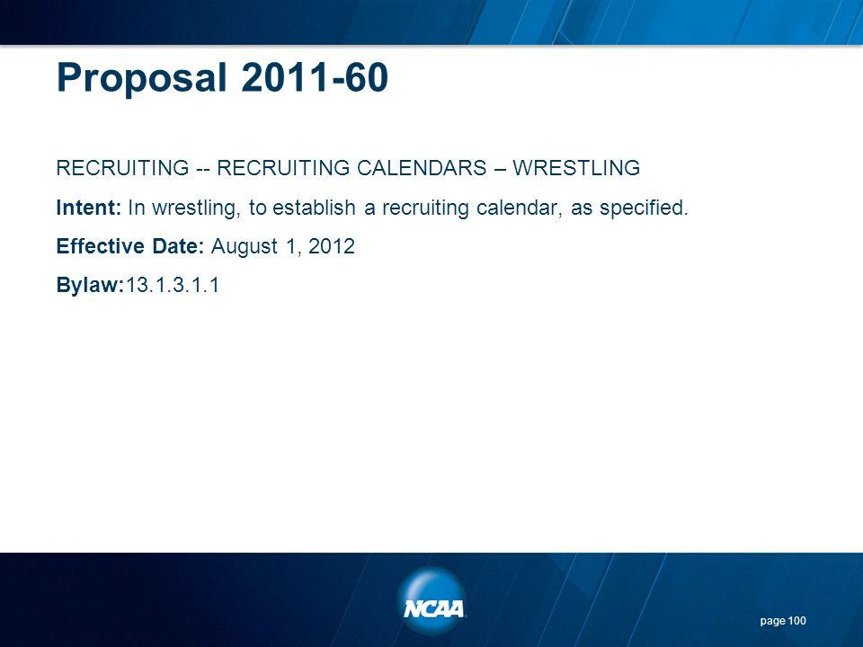 Proposal 2011-60