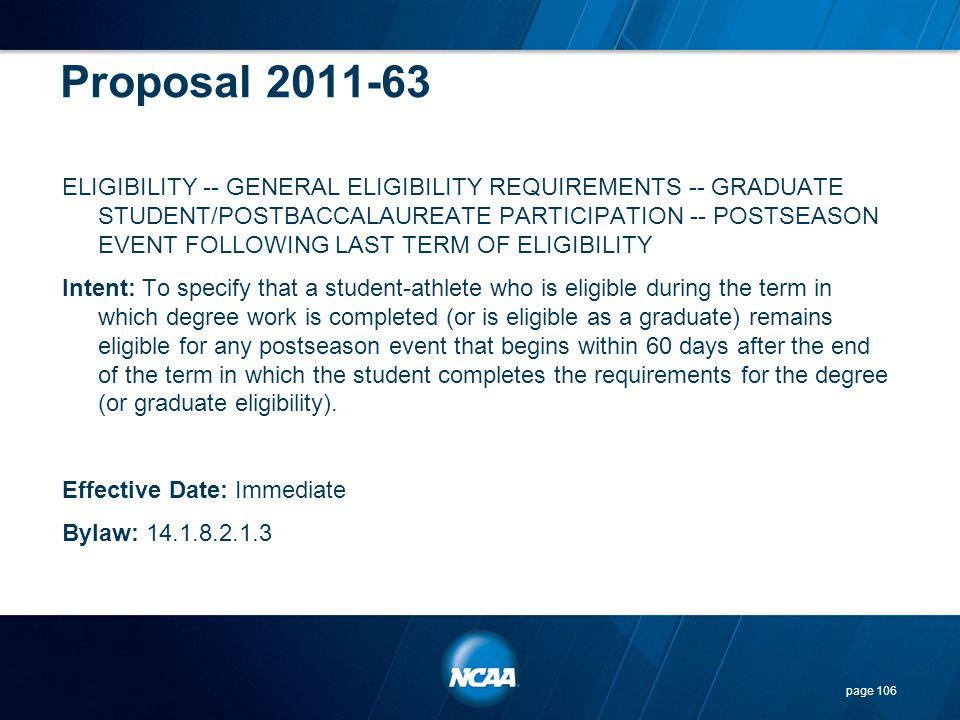 Proposal 2011-63