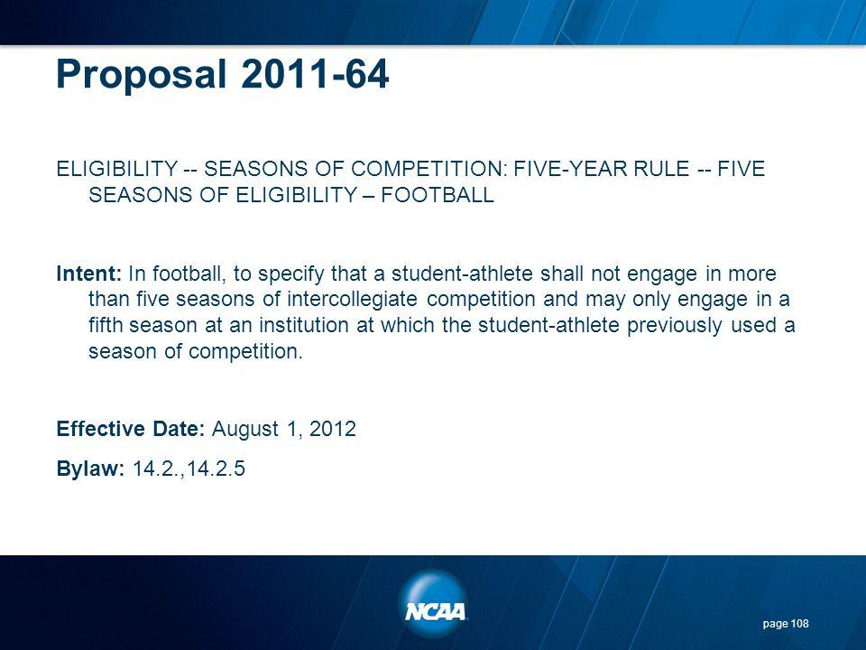 Proposal 2011-64