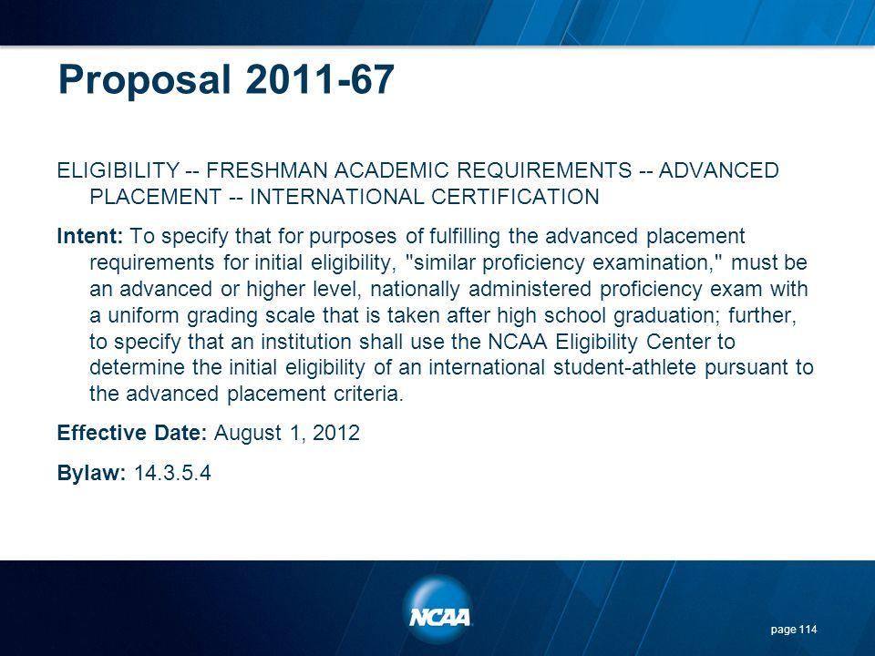 Proposal 2011-67