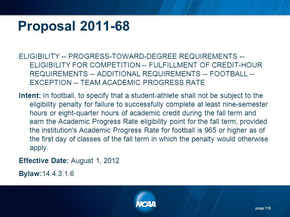 Proposal 2011-68
