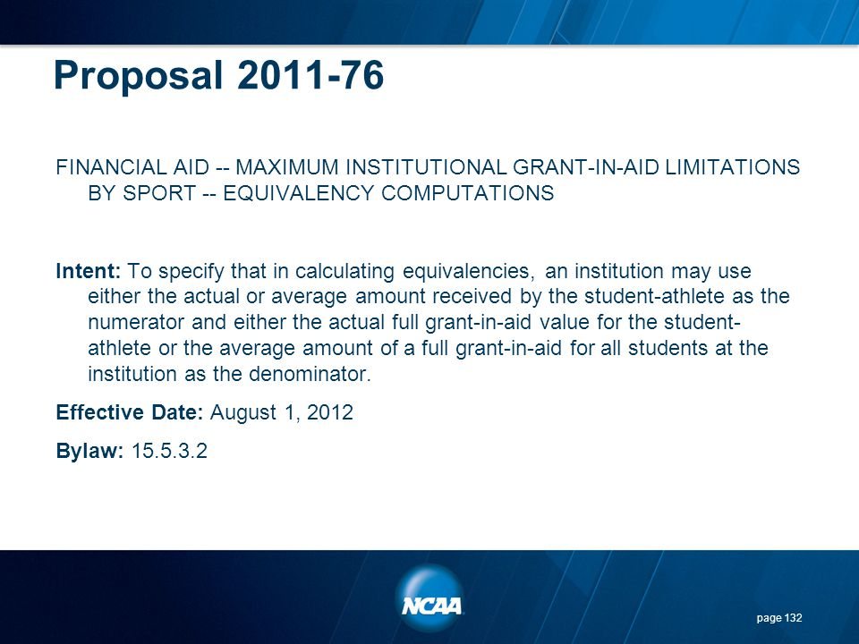 Proposal 2011-76