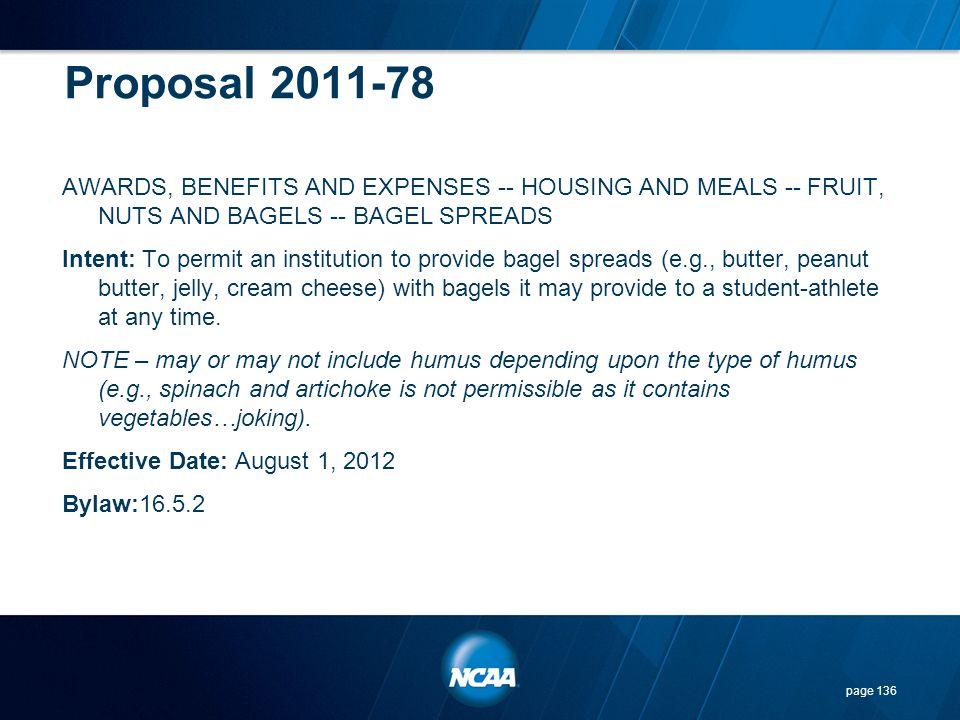 Proposal 2011-78