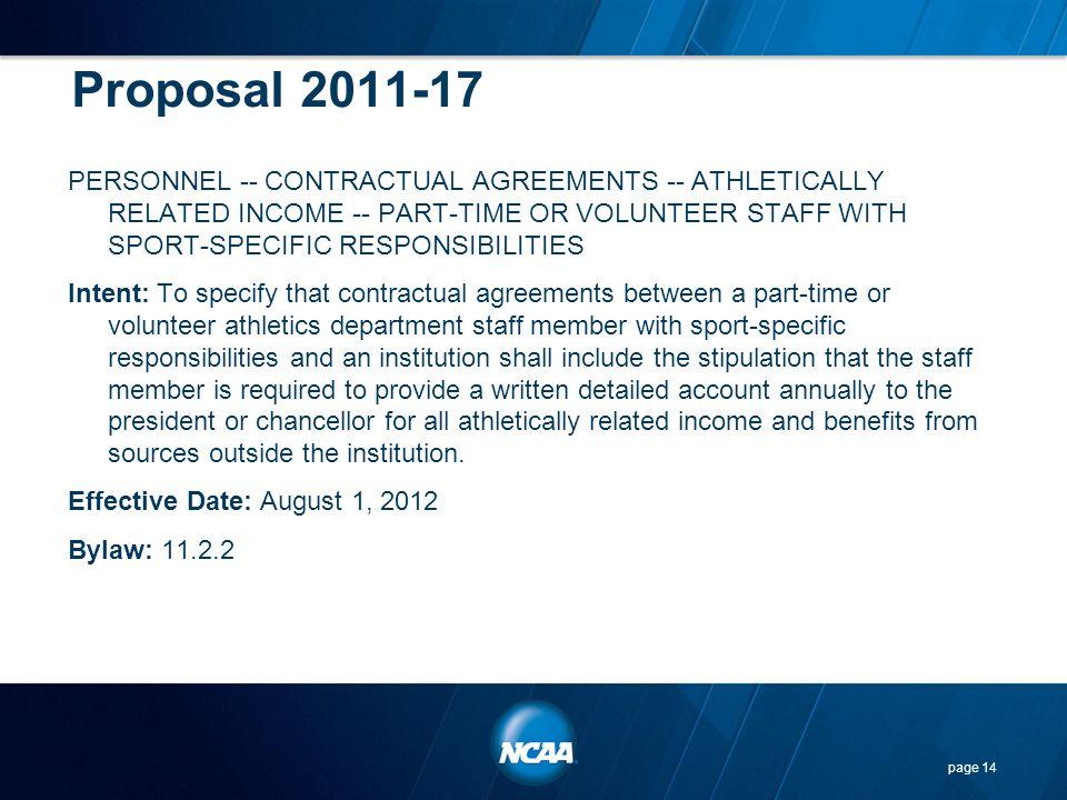 Proposal 2011-17