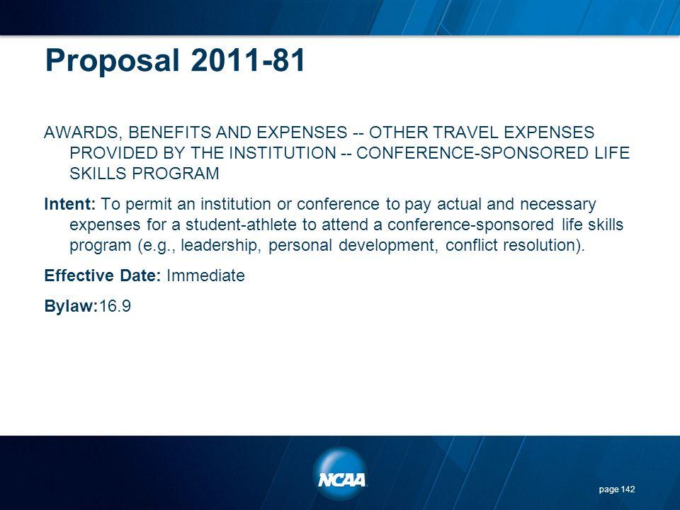 Proposal 2011-81