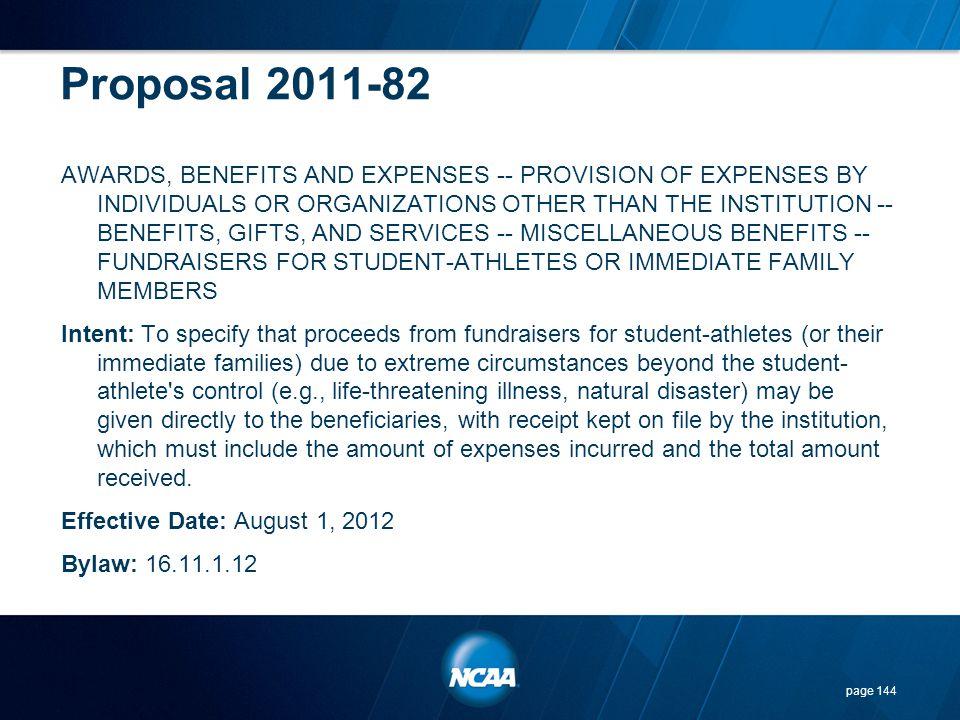 Proposal 2011-82