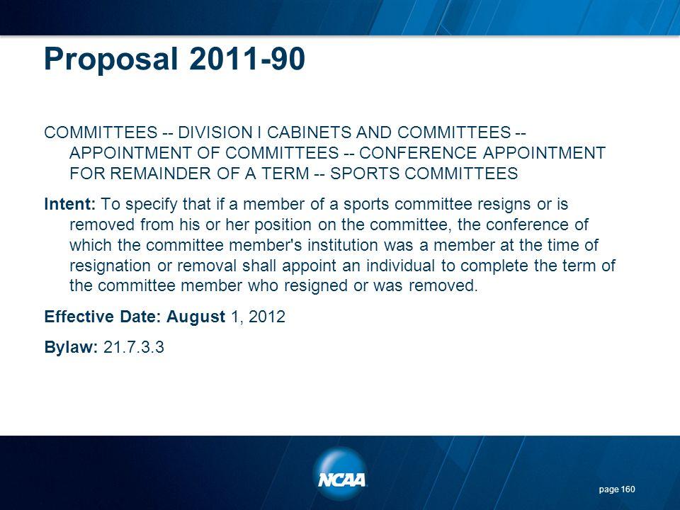 Proposal 2011-90