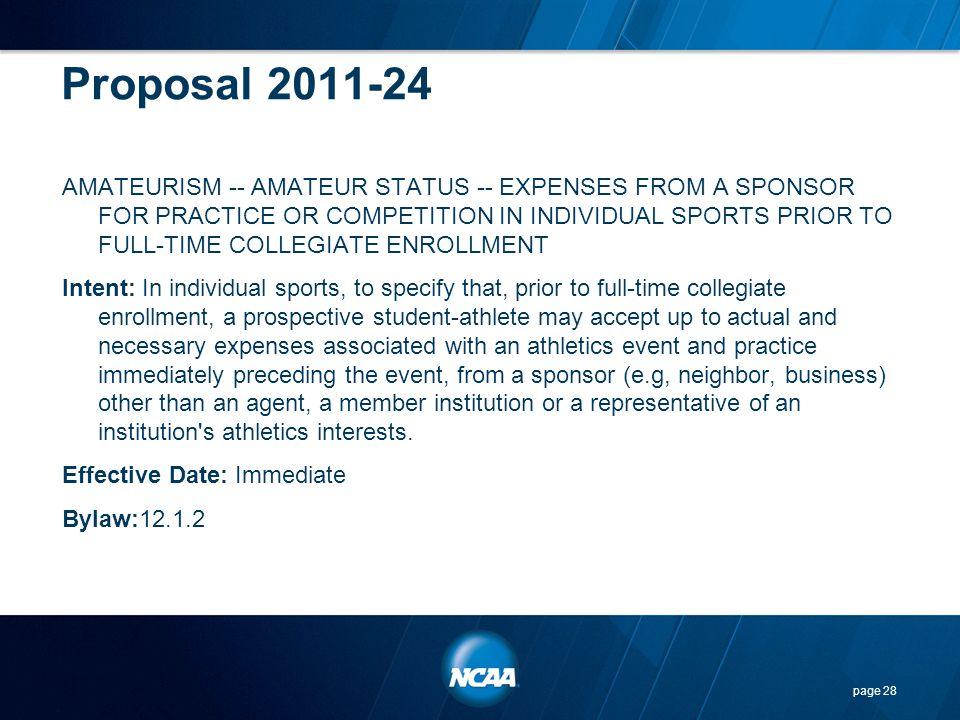 Proposal 2011-24
