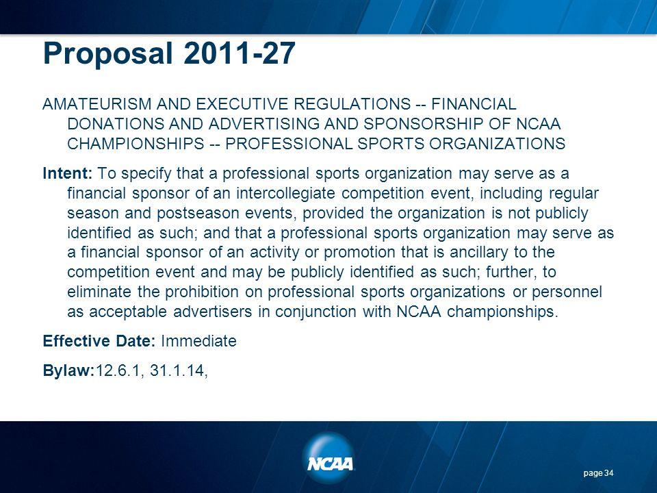 Proposal 2011-27