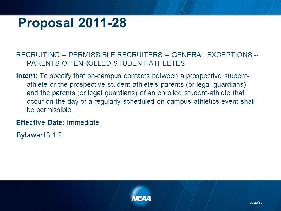 Proposal 2011-28