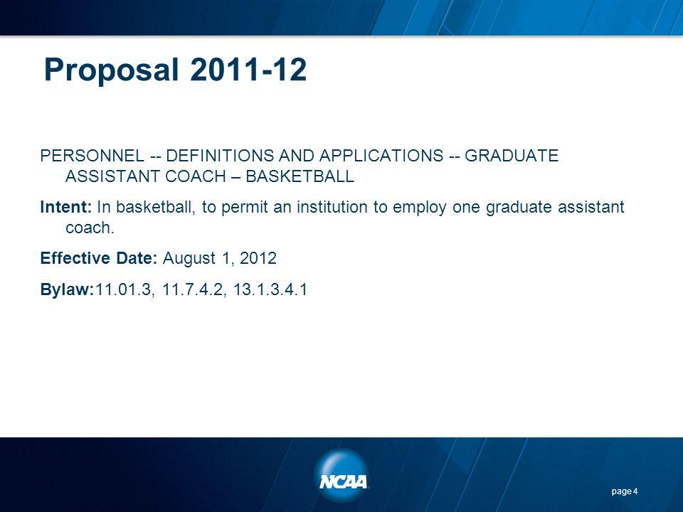 Proposal 2011-12