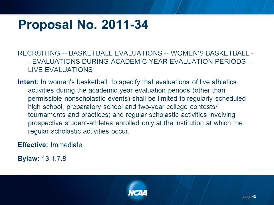 Proposal No. 2011-34