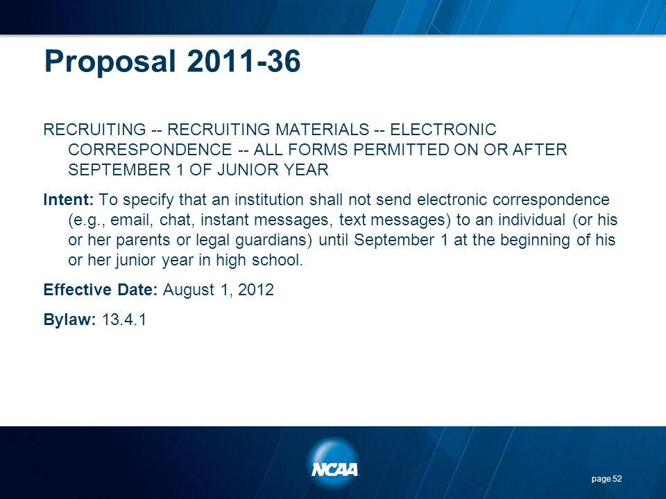 Proposal 2011-36