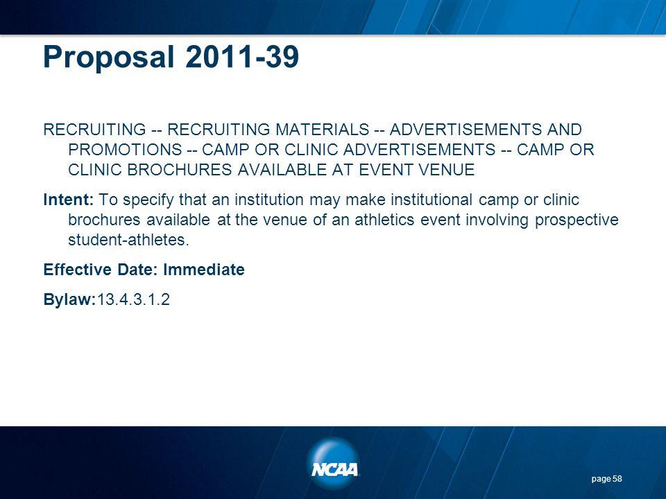 Proposal 2011-39