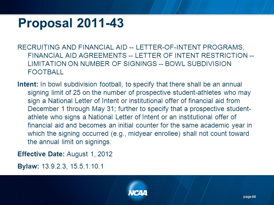 Proposal 2011-43