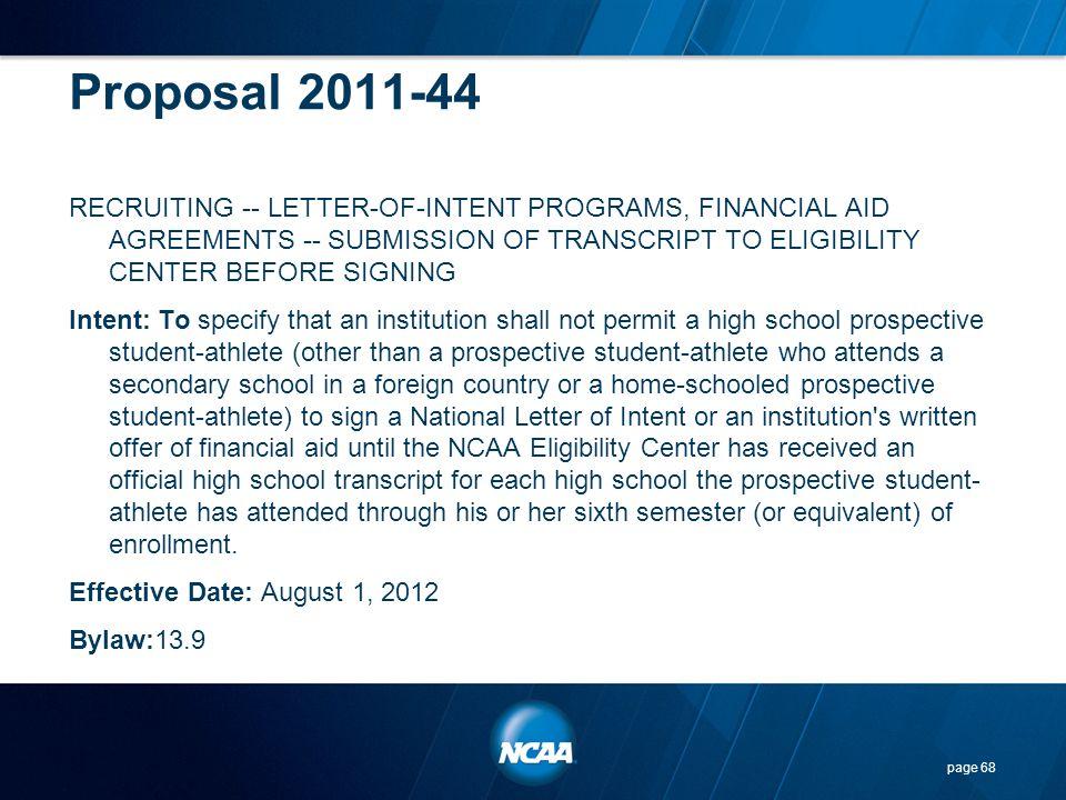 Proposal 2011-44