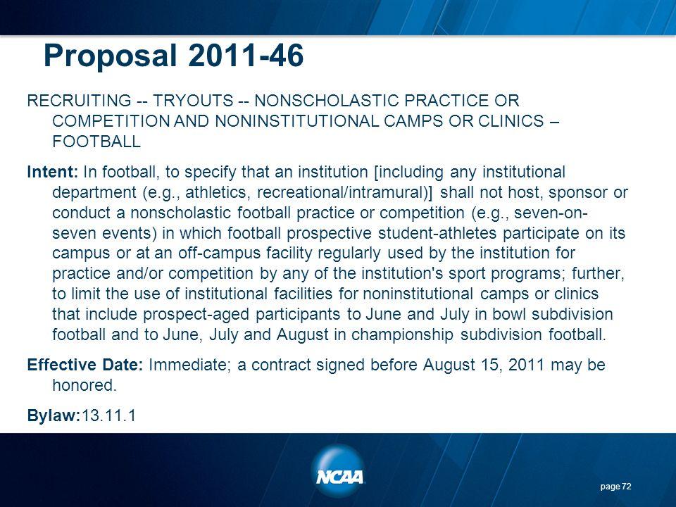 Proposal 2011-46