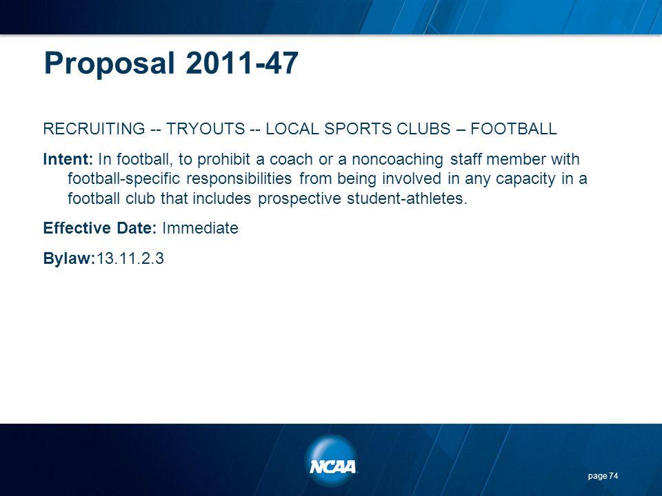 Proposal 2011-47