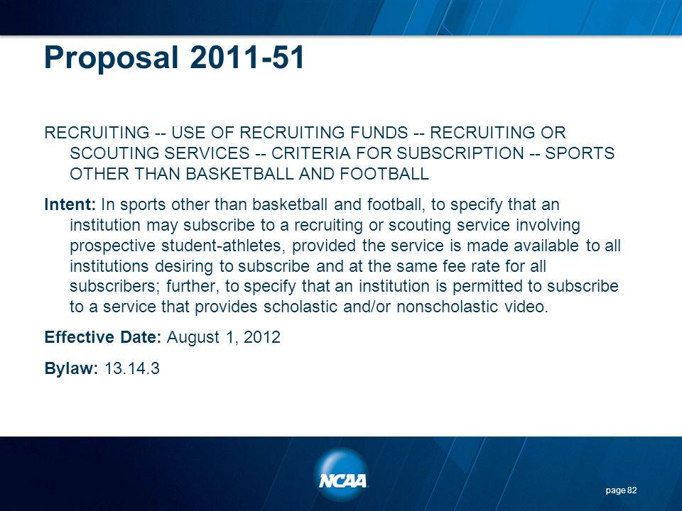 Proposal 2011-51