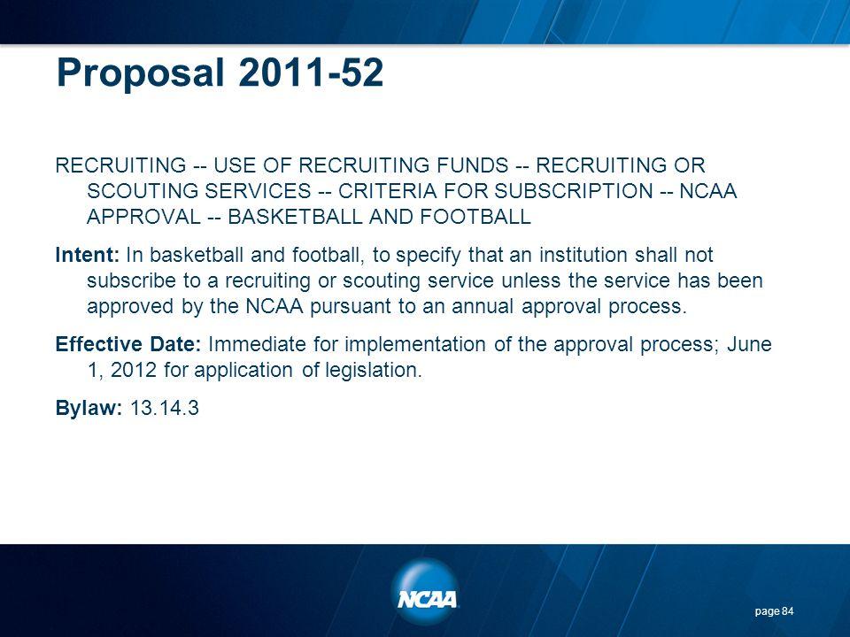 Proposal 2011-52