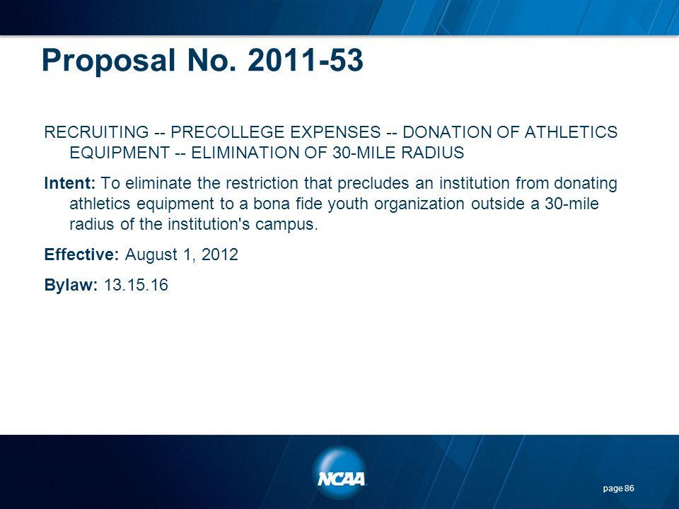 Proposal No. 2011-53