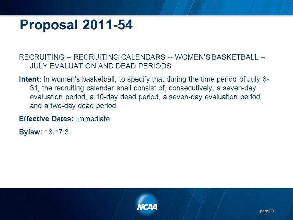 Proposal 2011-54