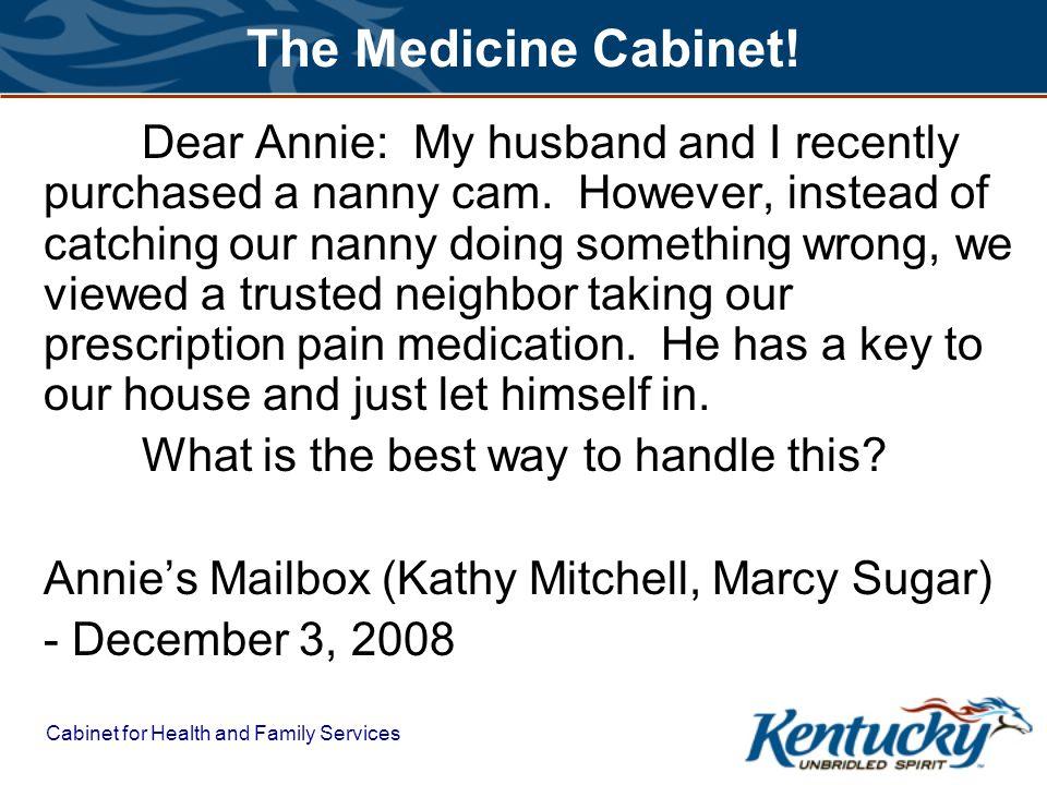 The Medicine Cabinet!