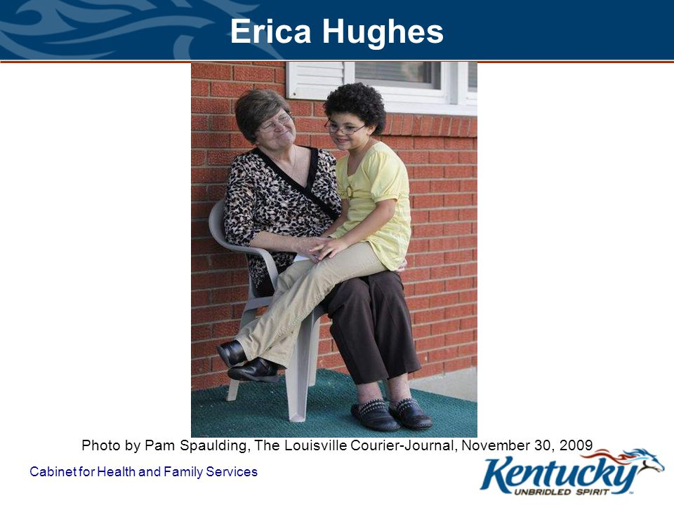 Erica Hughes Photo by Pam Spaulding, The Louisville Courier-Journal, November 30, 2009.