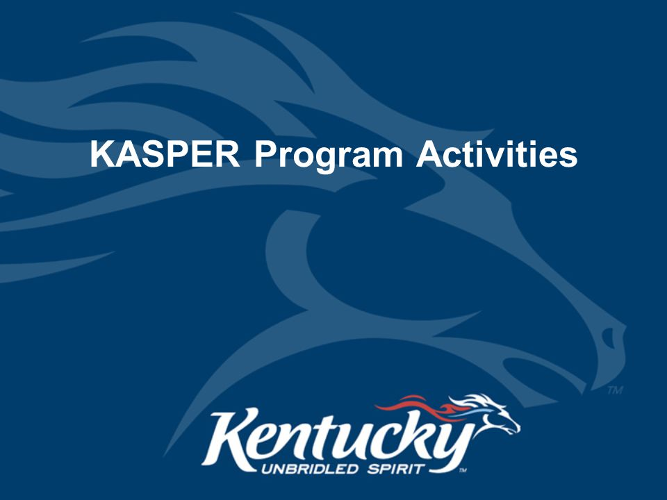 KASPER Program Activities