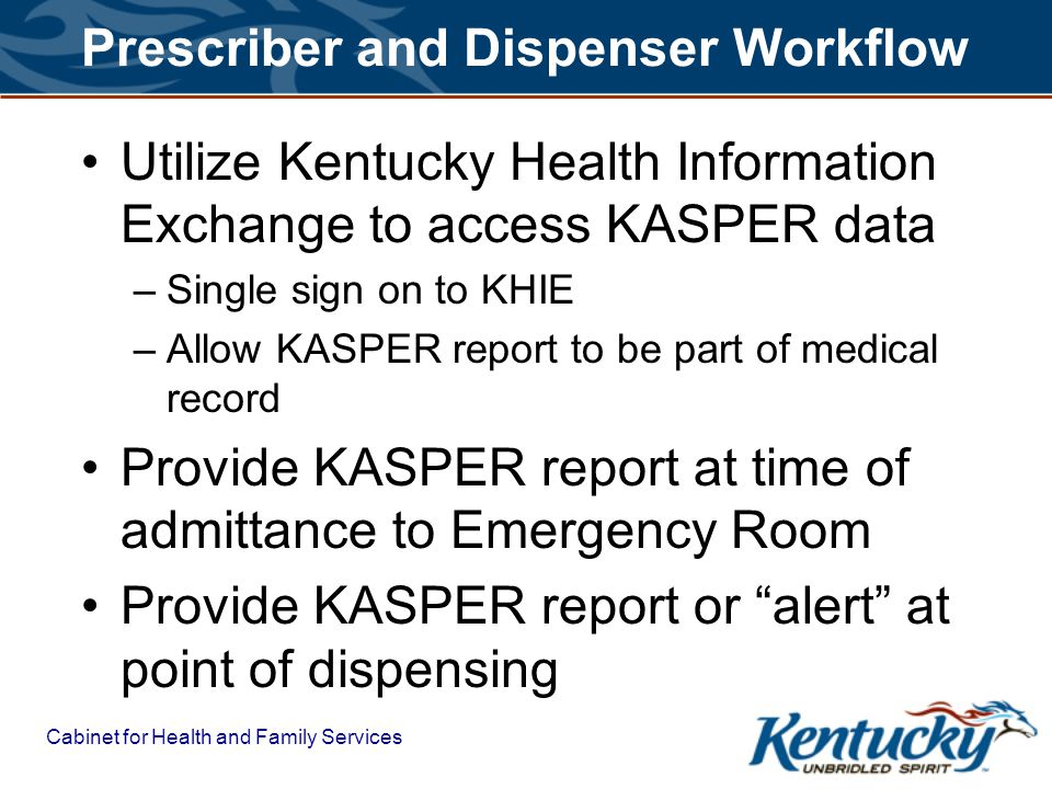 Prescriber and Dispenser Workflow