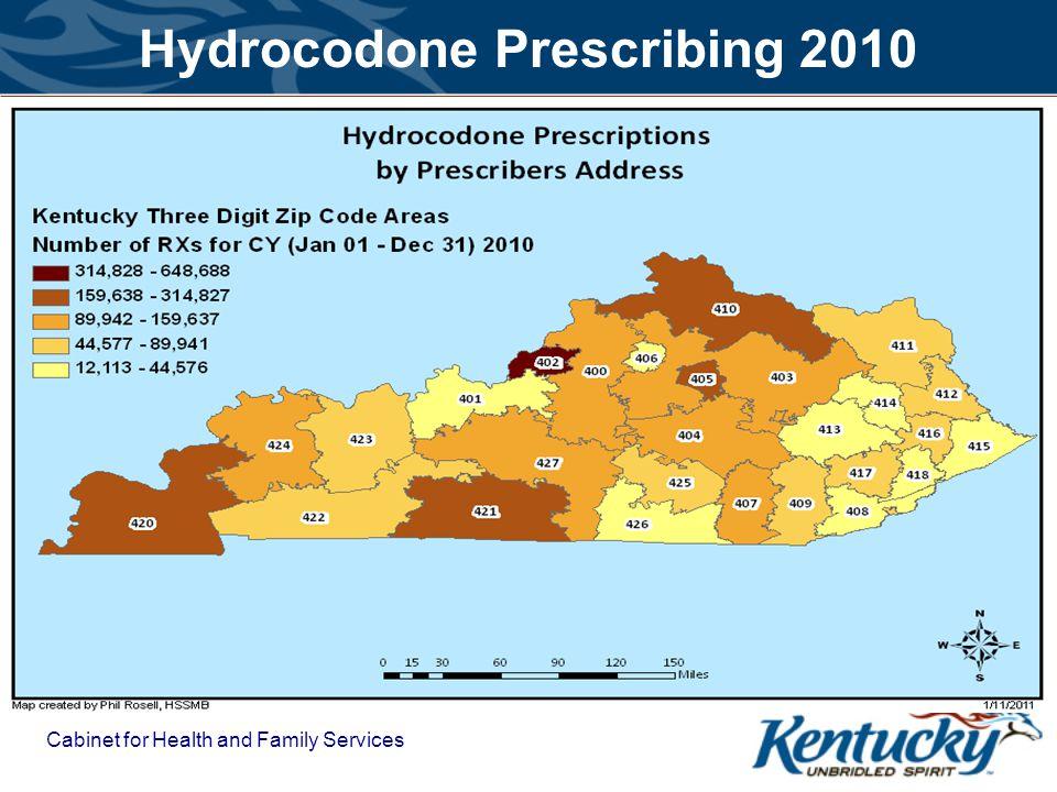 Hydrocodone Prescribing 2010
