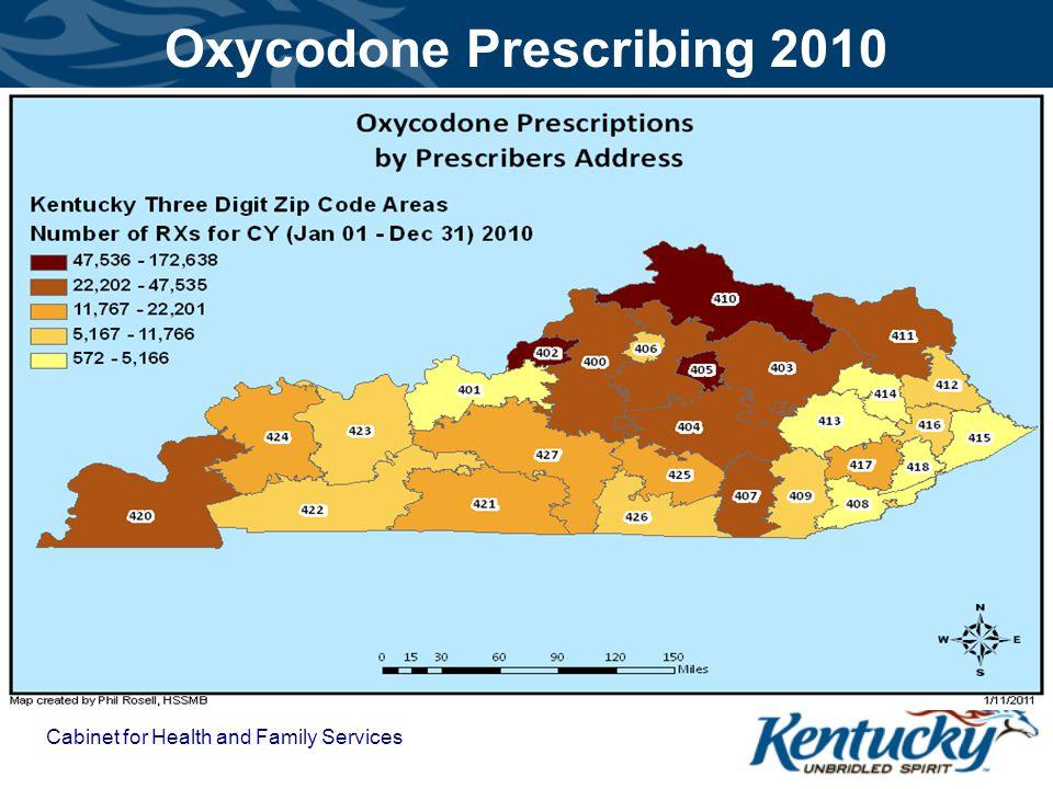 Oxycodone Prescribing 2010