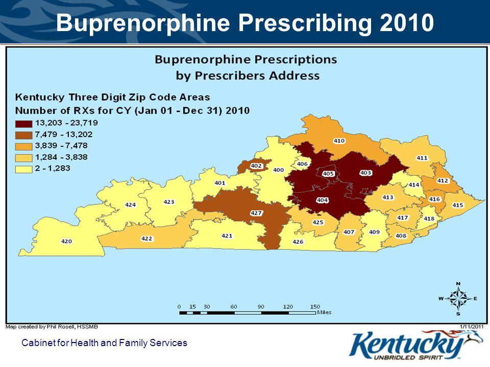 Buprenorphine Prescribing 2010