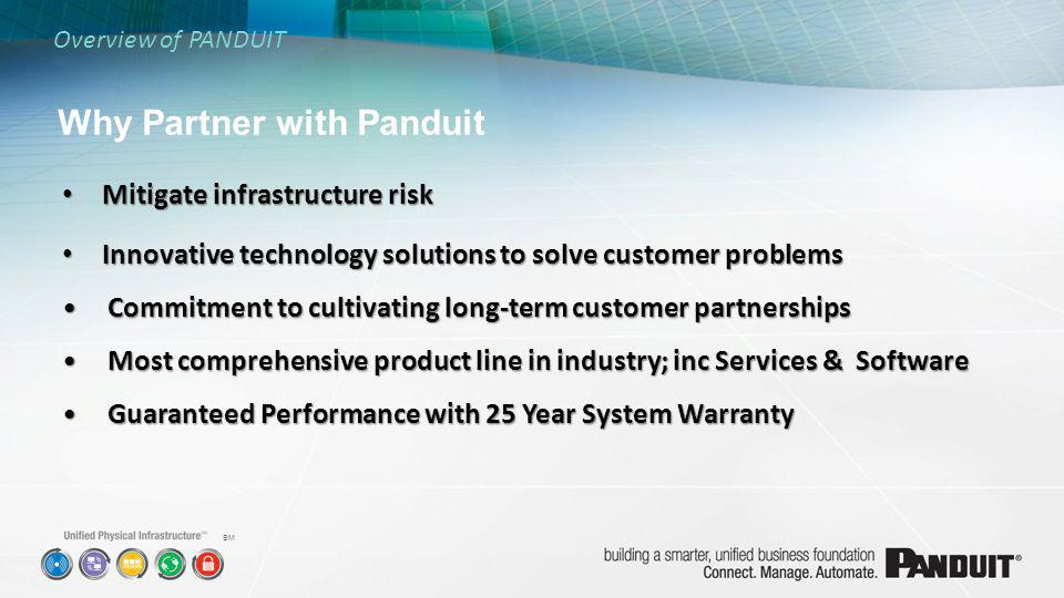 Why Partner with Panduit