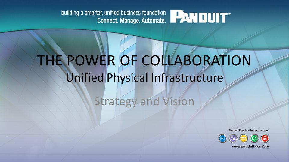THE POWER OF COLLABORATION Unified Physical Infrastructure