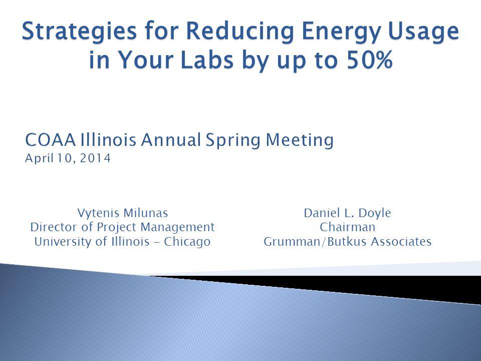COAA Illinois Annual Spring Meeting April 10, 2014