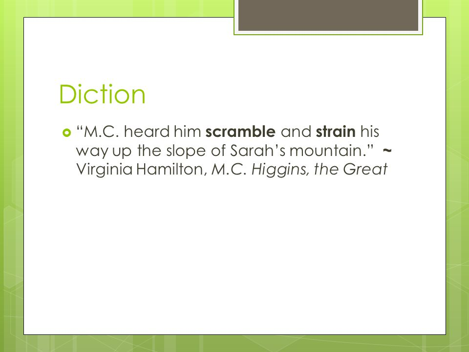 Diction M.C.