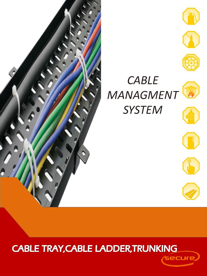 CABLE MANAGMENT SYSTEM CABLE TRAY,CABLE LADDER,TRUNKING