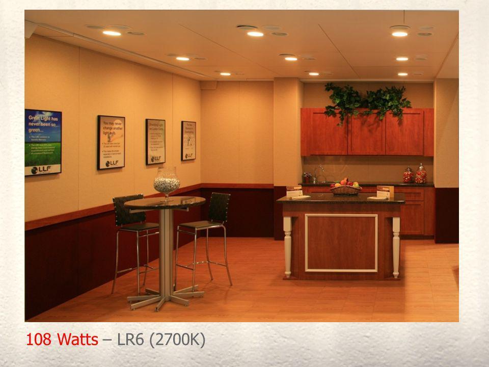 108 Watts – LR6 (2700K)